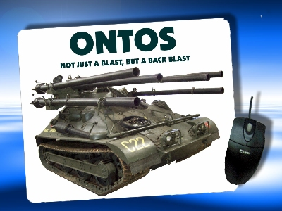 NEW! ONTOS PHOTO MOUSE PAD