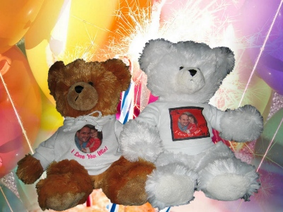 TEDDY BEAR - WITH PERSONALIZED SHIRT