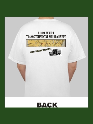 Official MVPA/Lincoln Highway Convoy Shirt