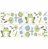 Leap Frog Baby and Childrens Wall Decal Stickers - Set of 4 Sheets