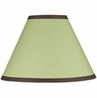Green and Brown Hotel Lamp Shade by Sweet Jojo Designs