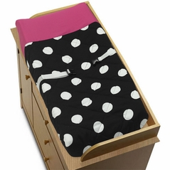 Hot Dot Baby Changing Pad Cover by Sweet Jojo Designs