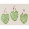 Olivia Pink and Green Wall Hanging Accessories by Sweet Jojo Designs