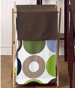 Baby/Kids Clothes Laundry Hamper for Designer Dot Bedding by Sweet Jojo Designs