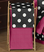 Baby/Kids Clothes Laundry Hamper for Hot Dot Bedding by Sweet Jojo Designs