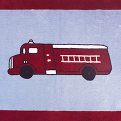 Fire Truck Bedding