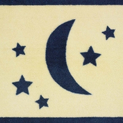 Moon and Star Bedding