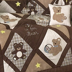 Teddy Bear Bedding