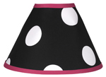 Hot Dot Modern Lamp Shade by Sweet Jojo Designs