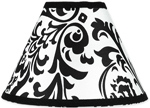 Hot Pink, Black and White Isabella Lamp Shade by Sweet Jojo Designs