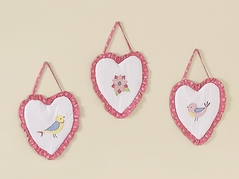 Song Bird Wall Hanging Accessories by Sweet Jojo Designs