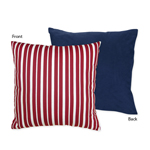 Vintage Aviator Airplane Decorative Accent Throw Pillow by Sweet Jojo Designs
