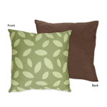 Jungle Time Decorative Accent Throw Pillow by Sweet Jojo Designs