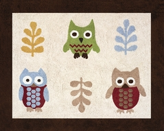 Night Owl Accent Floor Rug