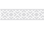 Gray and White Diamond Children and Kids Modern Wall Border by Sweet Jojo Designs