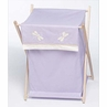 Baby and Kids Clothes Laundry Hamper for Purple Dragonfly Dreams Bedding