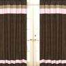 Soho Pink Window Treatment Panels - Set of 2