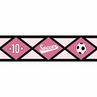 Girls Soccer Kids and Teens Wall Paper Border by Sweet Jojo Designs