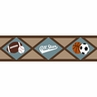 All Star Sports Baby and Kids Wall Border by Sweet Jojo Designs