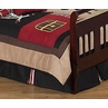 Treasure Cove Pirate Bed Skirt for Toddler Bedding Sets by Sweet Jojo Designs