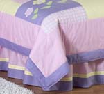 Pretty Pony Queen Kids Children's Bed Skirt by Sweet Jojo Designs