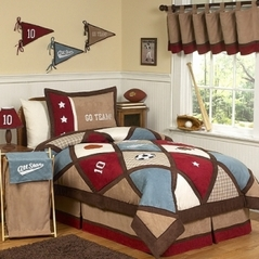 All Star Sports Childrens Bedding - 4 pc Twin Set