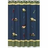 Construction Zone Kids Bathroom Fabric Bath Shower Curtain