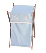 Blue Dragonfly Dreams Baby and Kids Clothes Laundry Hamper