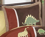 Dinosaur Pillow Sham