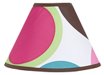 Deco Dot Modern Lamp Shade by Sweet Jojo Designs