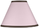 Pink and Brown Hotel Lamp Shade by Sweet Jojo Designs