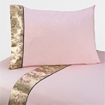 3 pc Twin Sheet Set for Abby Rose Bedding Collection