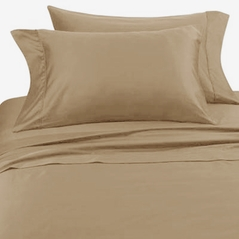 Solid Taupe Hotel Spa Collection 300TC Sheet Set