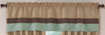 Moss - Jacaranda Collection - Microsuede Valance Window Treatment