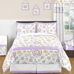 Suzanna Childrens and Kids Bedding - 3pc Full / Queen Set by Sweet Jojo Designs