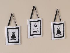 Black and White Princess Wall Hanging Accessories by Sweet Jojo Designs