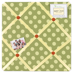 Forest Friends Fabric Memory/Memo Photo Bulletin Board