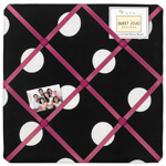 Hot Dot Modern Fabric Memory/Memo Photo Bulletin Board by Sweet Jojo Designs