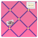 Groovy Fabric Memory/Memo Photo Bulletin Board