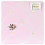Ballet Dancer Ballerina Fabric Memory/Memo Photo Bulletin Board
