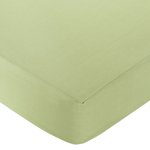 Green and Brown Hotel Fitted Crib Sheet for Baby and Toddler Bedding Sets by Sweet Jojo Designs - Green