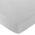 Fitted Crib Sheet for White and Gray Hotel Baby/Toddler Bedding by Sweet Jojo Designs - Gray