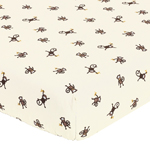 Monkey Fitted Crib Sheet for Baby/Toddler Bedding Sets - Monkey Print