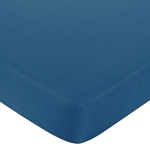 Sweet Jojo Designs Surf Fitted Crib Sheet for Baby/Toddler Bedding Sets - Dark Blue