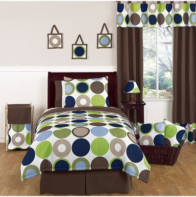Designer Dot Full/Queen Bedding Collection