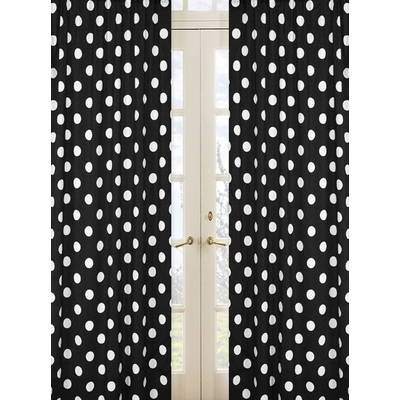 Hot Dot Window Panels - Set of 2