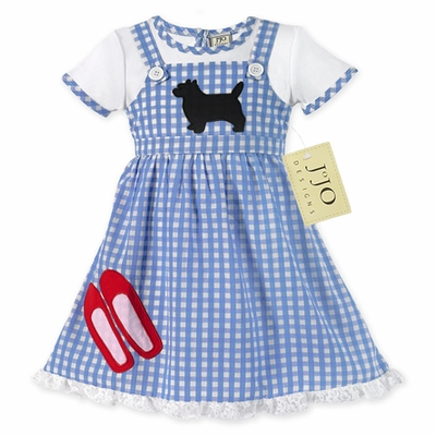 Dorothy Wizard of Oz Halloween Costume or Dress Up Outfit