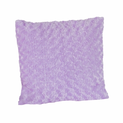 Kaylee Purple Minky Swirl Decorative Accent Throw Pillow