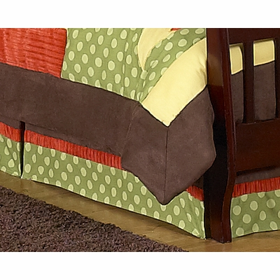 Forest Friends Toddler Bed Skirt