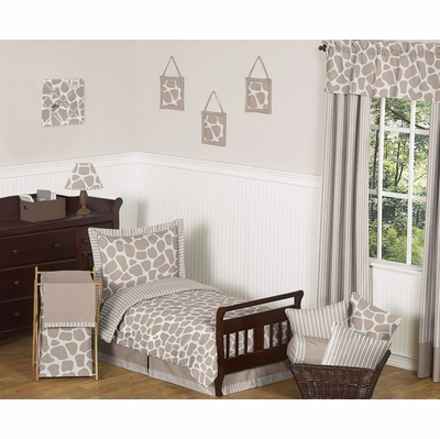 Giraffe Toddler Bedding Collection